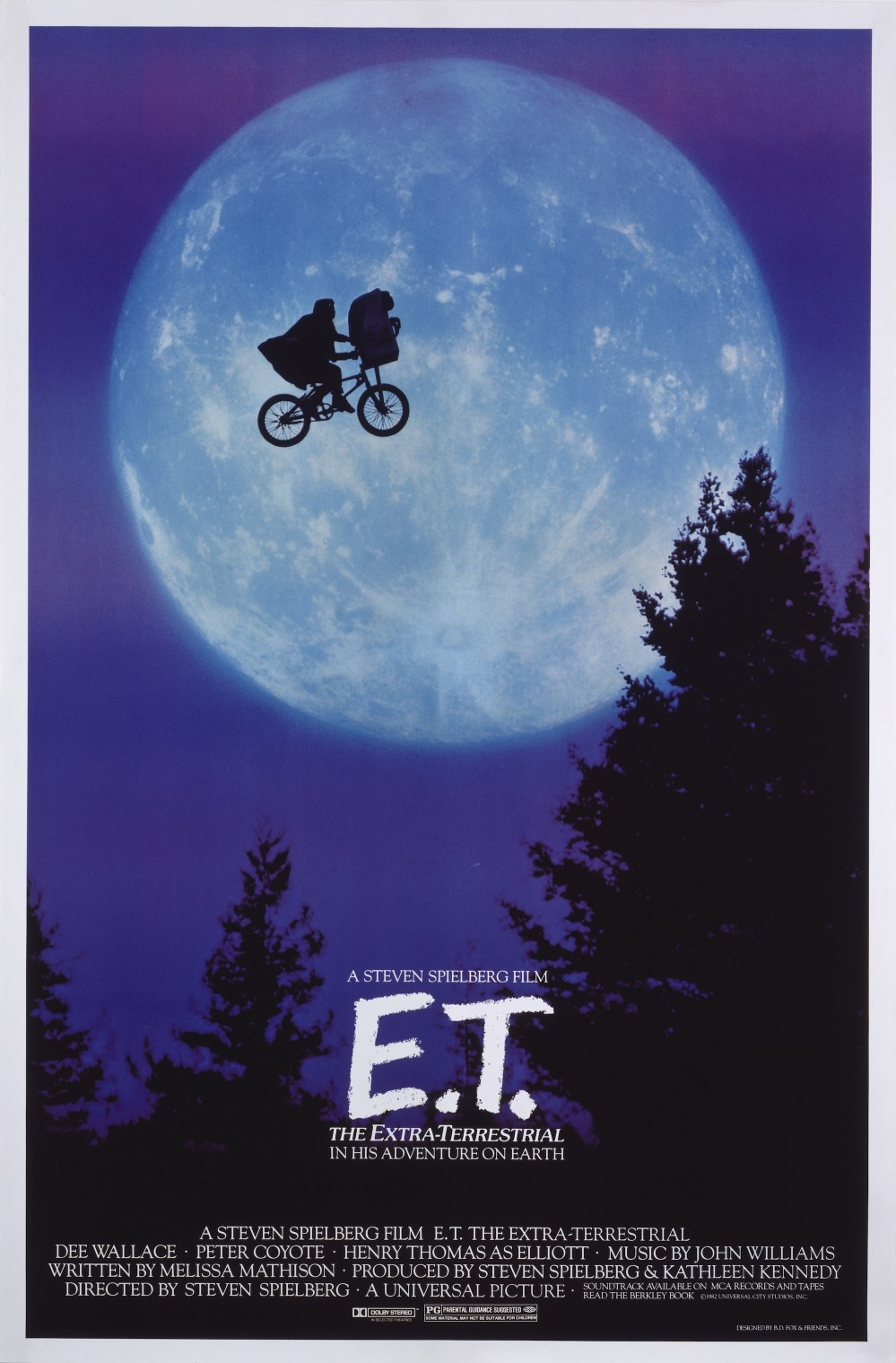 Re-release poster 'E.T.' © 1982 UIP