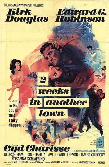 Two Weeks in Another Town poster, copyright in handen van productiestudio en/of distributeur