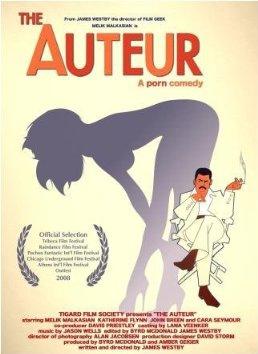 The Auteur poster, copyright in handen van productiestudio en/of distributeur