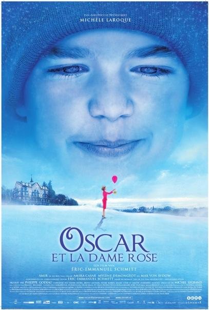 Oscar et la dame rose poster, © 2009 Cinéart