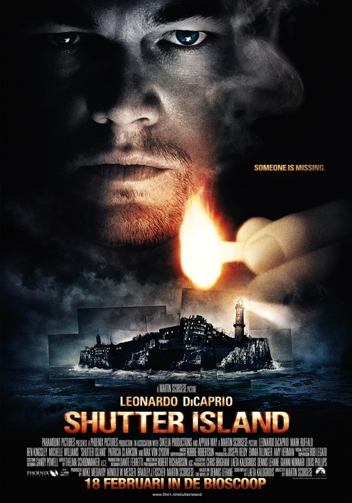 Shutter Island poster, © 2009 Universal Pictures