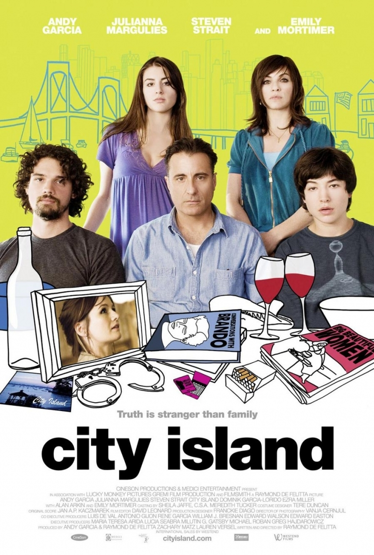City Island poster, copyright in handen van productiestudio en/of distributeur