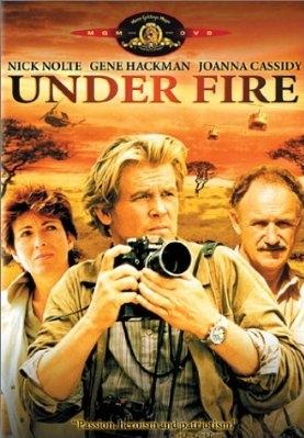 Under Fire  poster, copyright in handen van productiestudio en/of distributeur