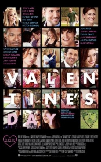 Valentine's Day poster, © 2010 Warner Bros.