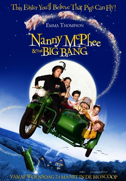 Nanny McPhee and the Big Bang poster, © 2010 Universal Pictures