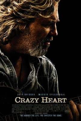 Crazy Heart poster, © 2009 Warner Bros.