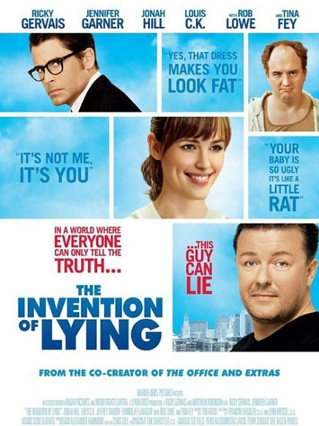 The Invention of Lying poster, copyright in handen van productiestudio en/of distributeur