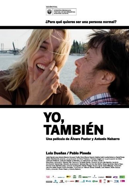 Yo, también poster, © 2009 A-Film Quality Film