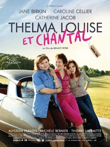 Thelma, Louise et Chantal poster, copyright in handen van productiestudio en/of distributeur
