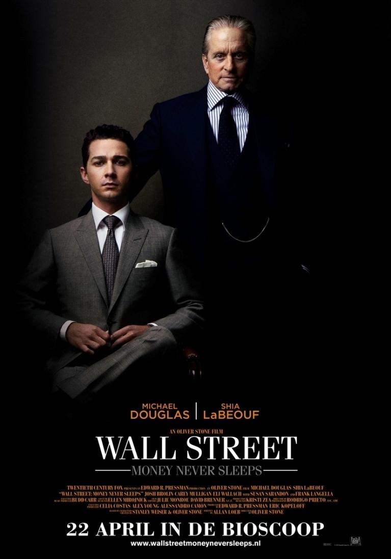 Wall Street: Money Never Sleeps poster, © 2010 20th Century Fox
