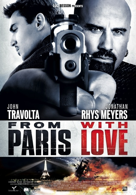 From Paris with Love poster, © 2010 E1 Entertainment Benelux