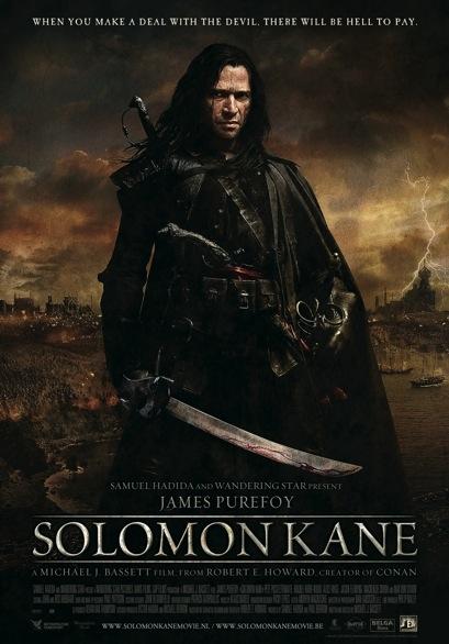 Solomon Kane poster, © 2009 E1 Entertainment Benelux