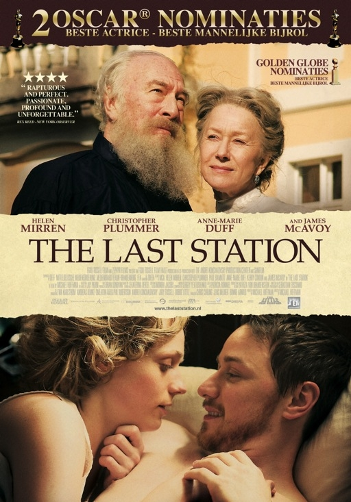 The Last Station poster, © 2009 E1 Entertainment Benelux
