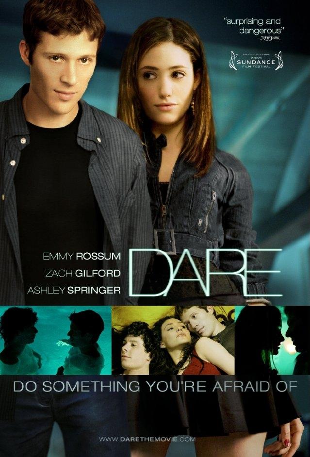 Dare poster, copyright in handen van productiestudio en/of distributeur