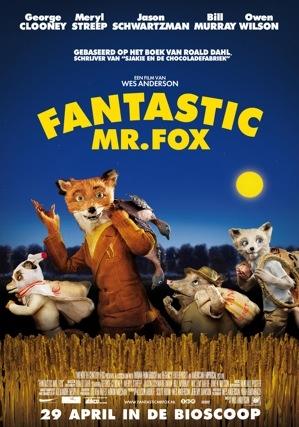 Fantastic Mr. Fox poster, © 2009 20th Century Fox