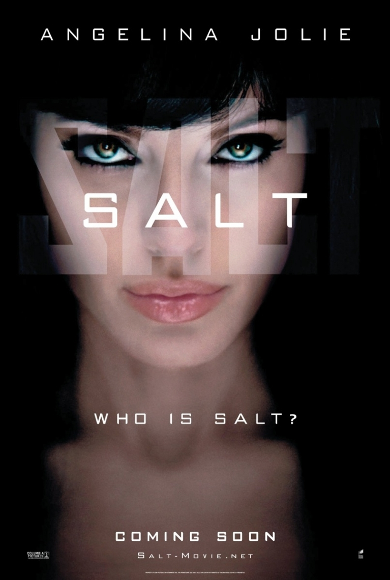 Salt poster, © 2010 Sony Pictures Releasing