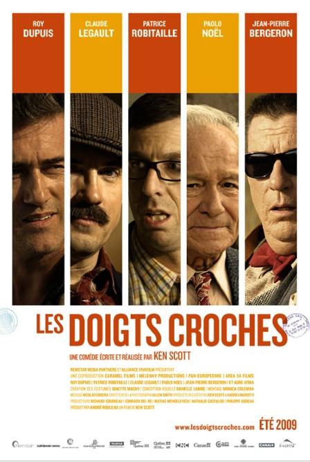 Les doigts croches poster, copyright in handen van productiestudio en/of distributeur