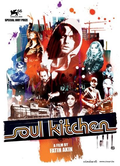 Soul Kitchen poster, © 2009 Cinéart