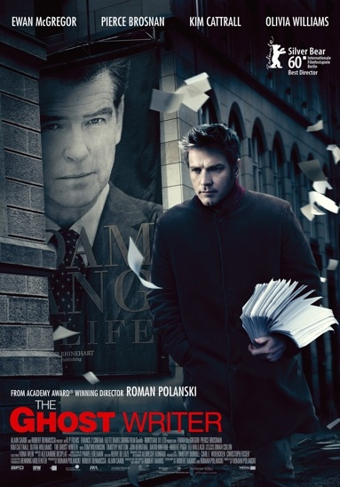 The Ghost Writer poster, © 2010 Benelux Film Distributors