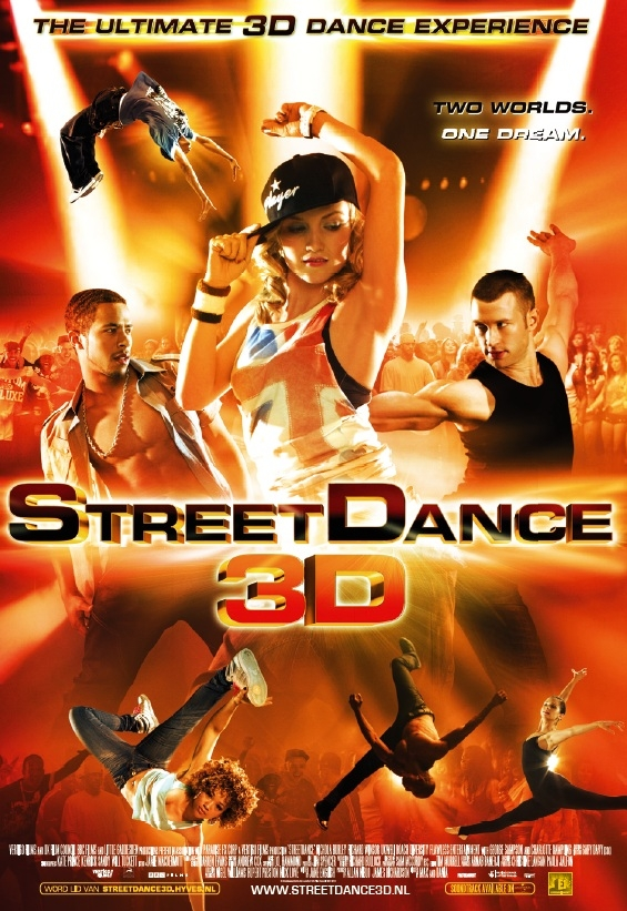 StreetDance 3D poster, © 2010 E1 Entertainment Benelux
