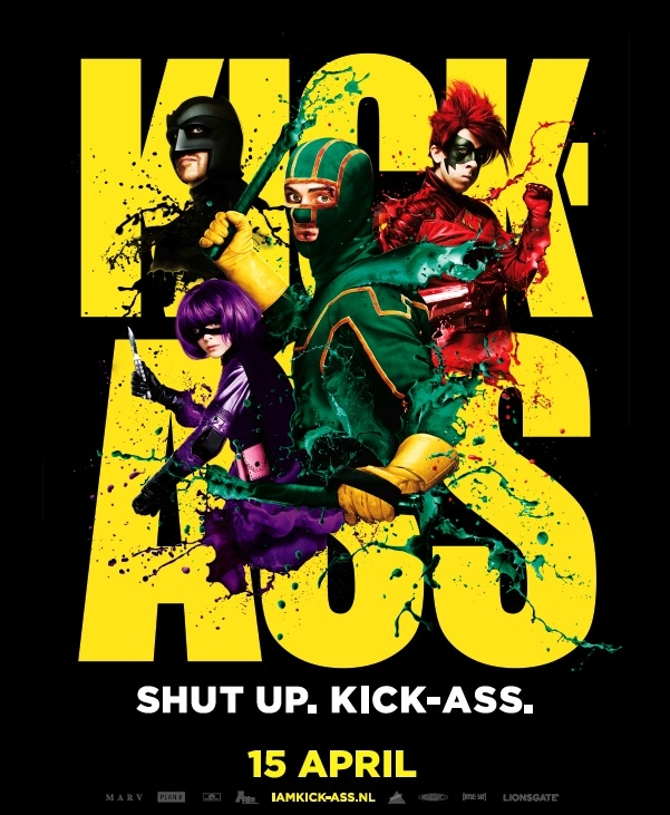 Kick-Ass poster, © 2010 A-Film Entertainment