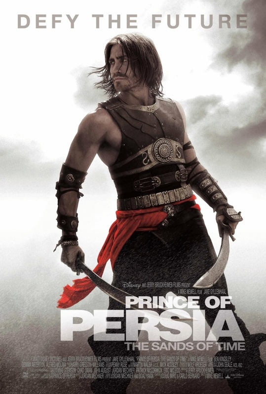 Prince of Persia: The Sands of Time poster, © 2010 Walt Disney Studios Motion Pictures