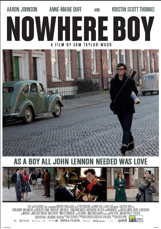 Nowhere Boy poster, © 2009 A-Film Quality Film
