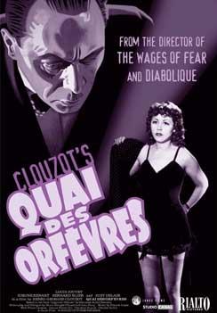 Quai des Orfèvres poster, copyright in handen van productiestudio en/of distributeur