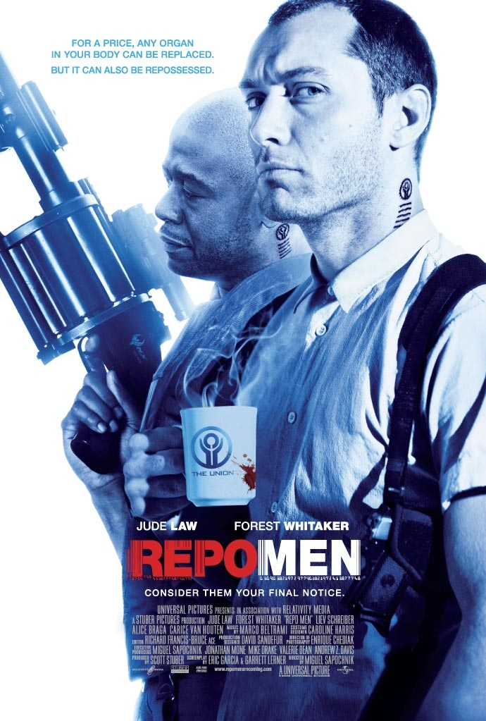 Repo Men poster, © 2009 Universal Pictures International
