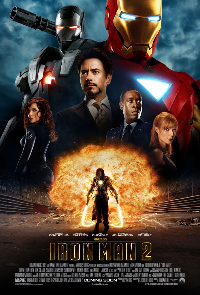 Iron Man 2 poster, © 2010 Universal Pictures International
