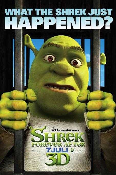 Shrek Forever After poster, © 2010 Universal Pictures International