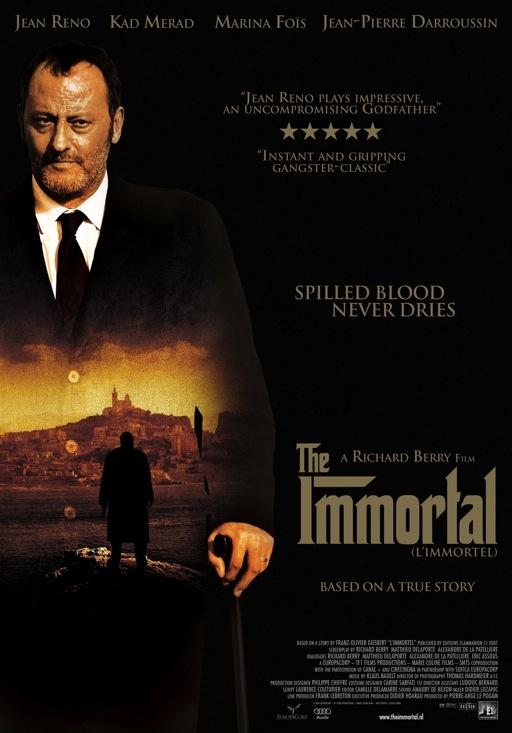 L'immortel poster, © 2010 E1 Entertainment Benelux