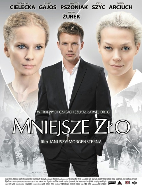 Mniejsze zlo poster, copyright in handen van productiestudio en/of distributeur