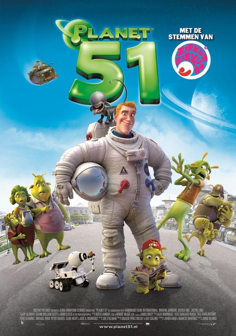 Planet 51 poster, © 2009 Independent Films