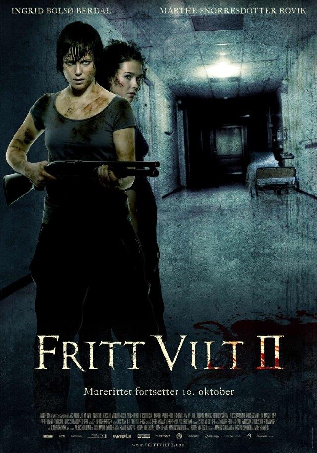 Fritt vilt II  poster, copyright in handen van productiestudio en/of distributeur