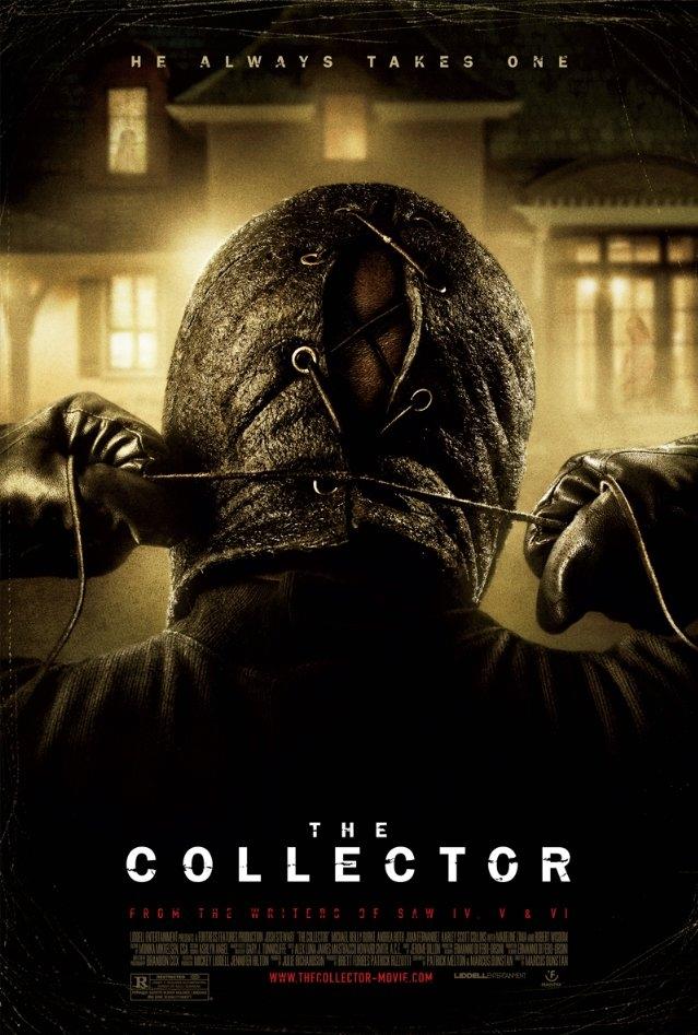 The Collector poster, copyright in handen van productiestudio en/of distributeur
