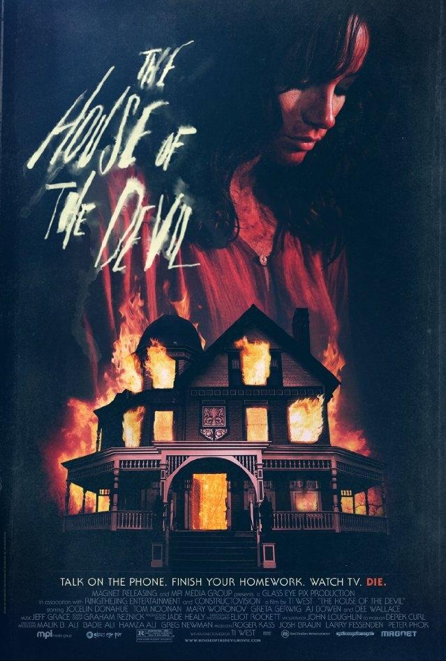 The House of the Devil poster, copyright in handen van productiestudio en/of distributeur