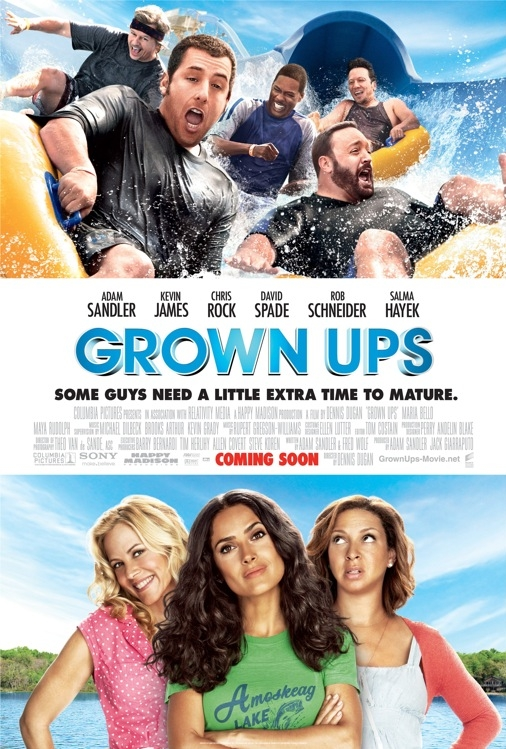 Grown Ups poster, © 2010 Sony Pictures Releasing