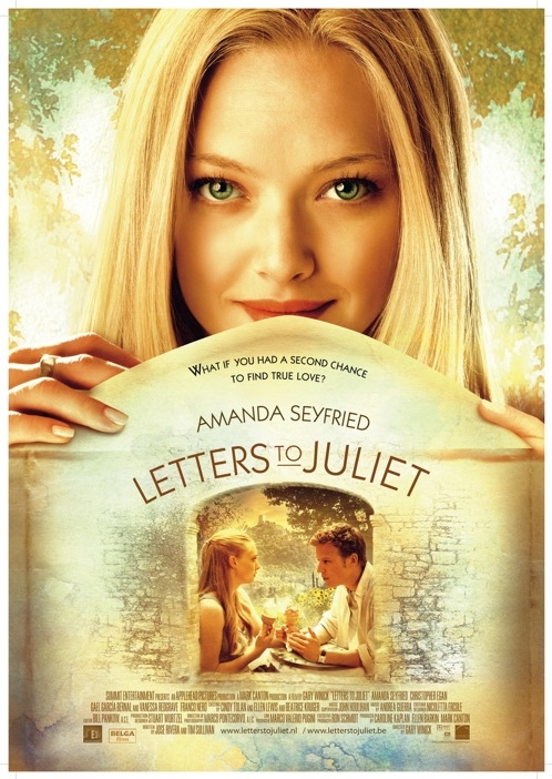 Letters to Juliet poster, © 2010 E1 Entertainment Benelux