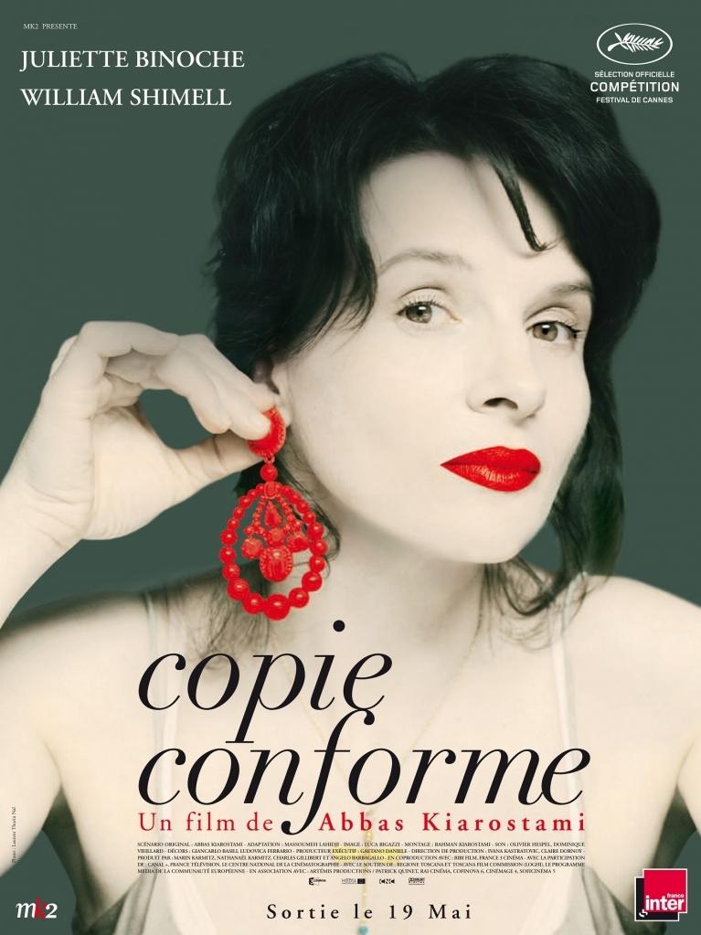 Copie conforme poster, © 2010 Wild Bunch