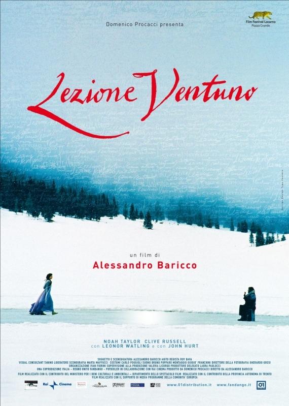 Lezione 21 poster, copyright in handen van productiestudio en/of distributeur