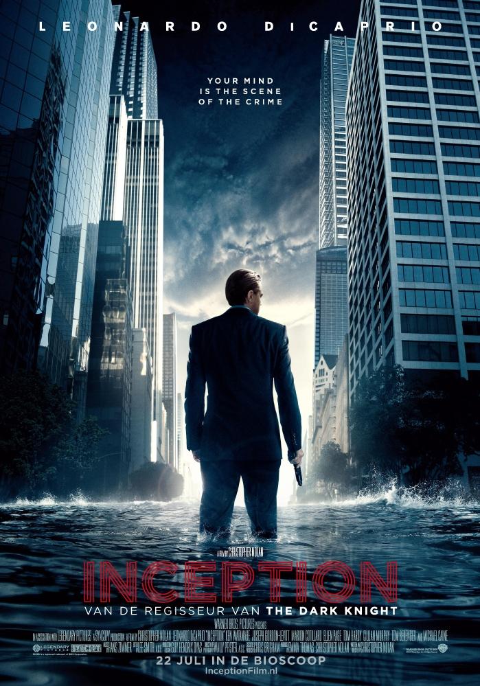 Inception poster, © 2010 Warner Bros.