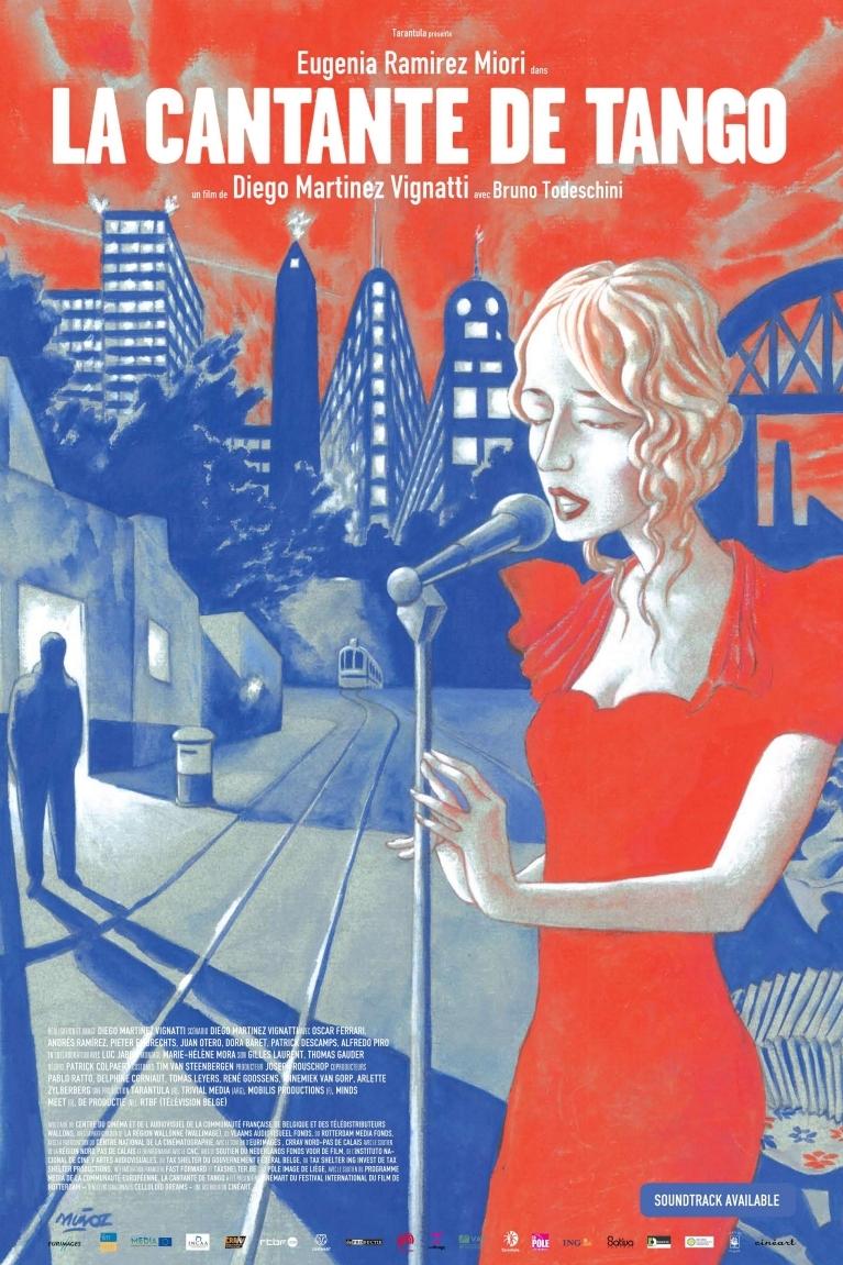 La cantante de tango poster, © 2009 Cinéart