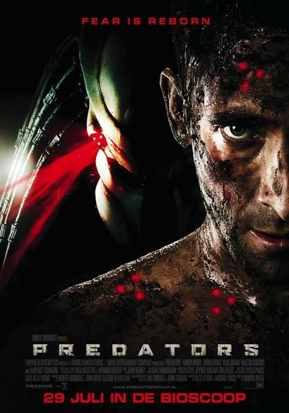 Predators poster, © 2010 20th Century Fox