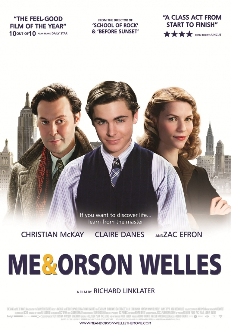 Me and Orson Welles poster, © 2008 Moonlight