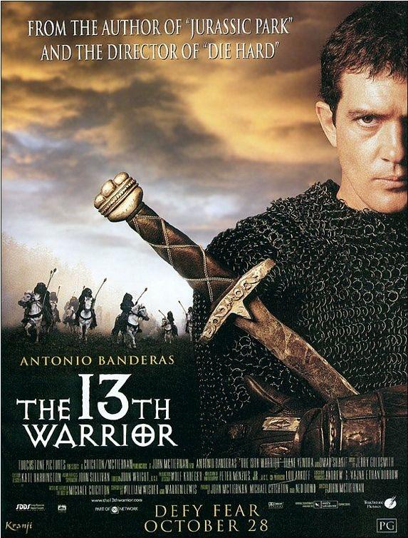 The 13th Warrior poster, copyright in handen van productiestudio en/of distributeur