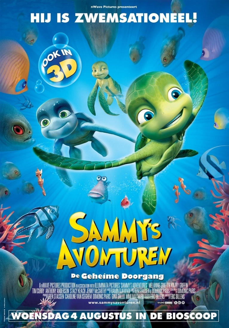 Sammy's Adventures: The Secret Passage poster, © 2009 Universal Pictures International