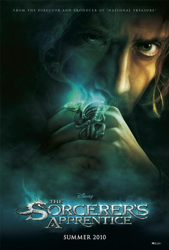 The Sorcerer's Apprentice poster, © 2010 Walt Disney Pictures