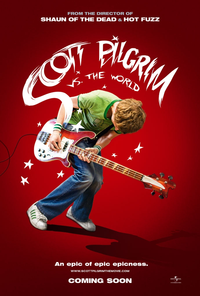 Scott Pilgrim vs. the World poster, © 2010 Universal Pictures International