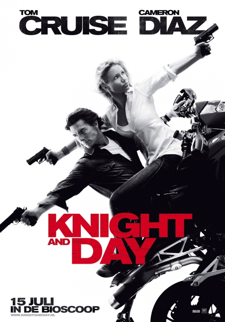 Knight and Day poster, © 2010 Warner Bros.